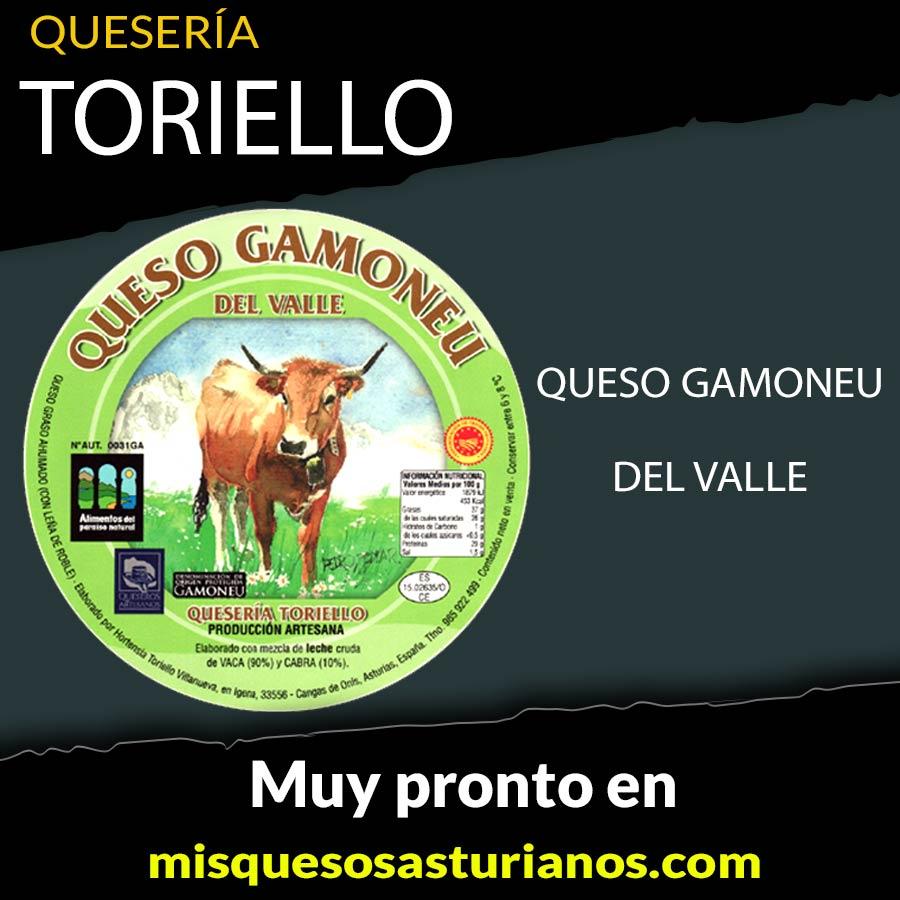 Quesería Toriello GAmoneu del Valle en misquesos asturianos