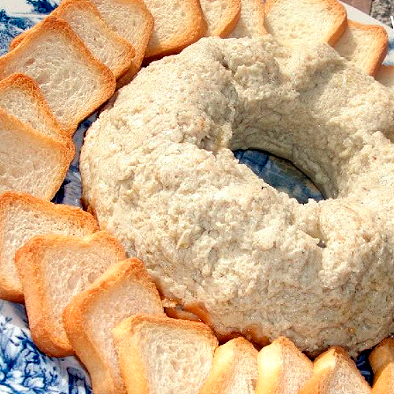 Paté de queso Cabrales